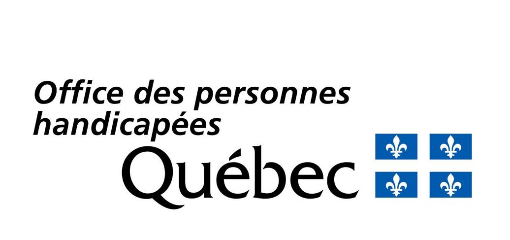 Office des personnes handicapées Québec logo